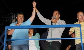 Em seu principal reduto Conceição do Coité, Alex saiu com um terço da votação que lhe garantiu a vitória.