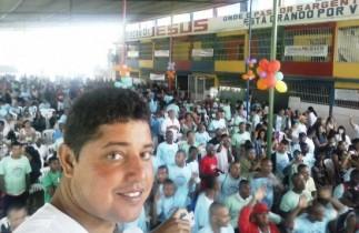Vereador levou dependentes químicos para o Centro de Recuperação DR Jesus em Candeias.
