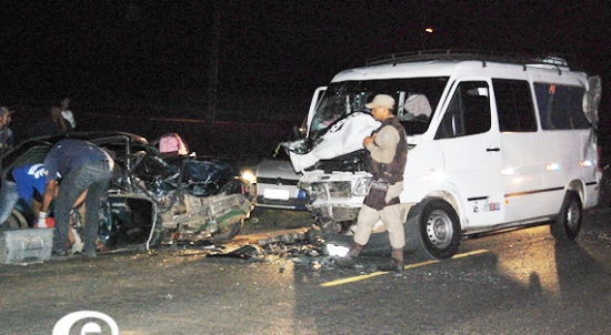 acidente na br 116 norte
