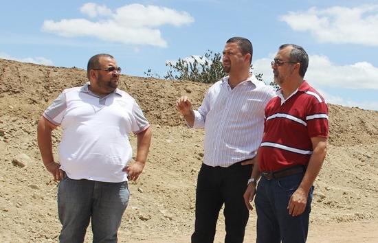 Osni Cardoso em conversa com José Silva e Ismael Ferreira