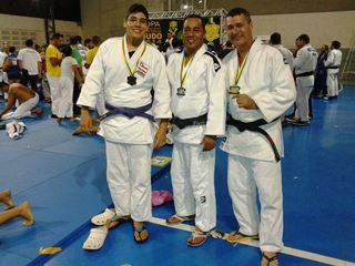 Vladson Junior, Flávio Dias e Vladson Matos.
