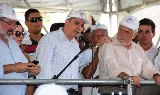 Prefeito elogiou a postura do governador, em comparecer a cidade onde seu candidato foi derrotado 40 dias depois.