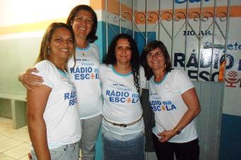 Prefeita Tânia Matos feliz pelo projeto inovador.