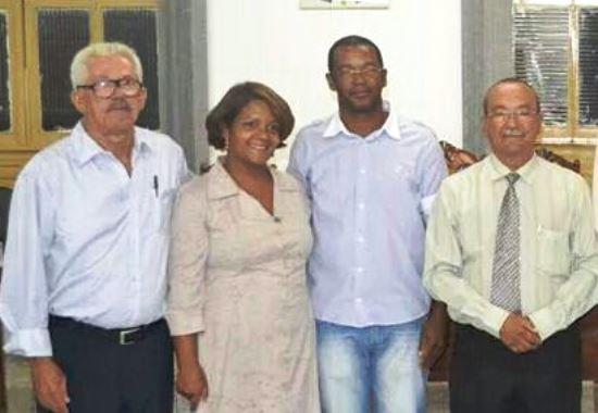 José Ariosto, Ana Clécia, Xandinho e Djalma atual presidente.