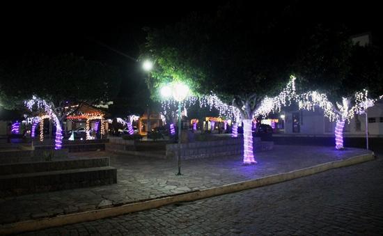 Praça 27 de Julho em Retirolândia.