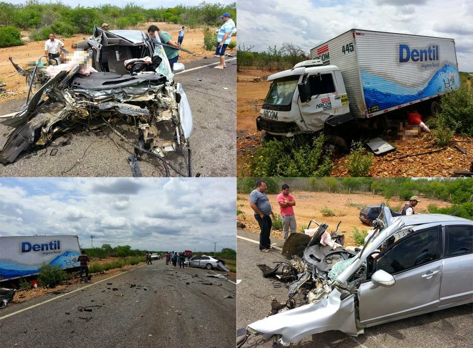 acidente 4 mortos na ba 210 em curaça