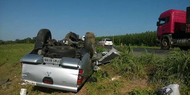 acidente na br 242 3