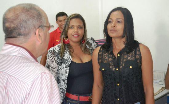 Vereadoras em entrevista a Valdemí de Assis