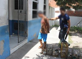 Suspeito de participação na morte do guarda Marcelo negou, mas apontou os autores.