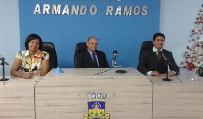 Elizane, Araújo e Lindo de  Neusa. Foto: Informe Bahia.