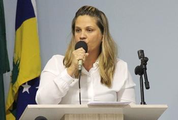 Analene pediu a cassação de Araújo e aproveitou para falar das agressões sofridas pelas mulheres no Brasil.
