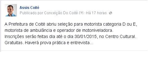 Assis facebook