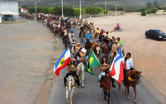 IV Cavalgada dos Amigos de Quijingue - des- foto- Raimundo Mascarenhas