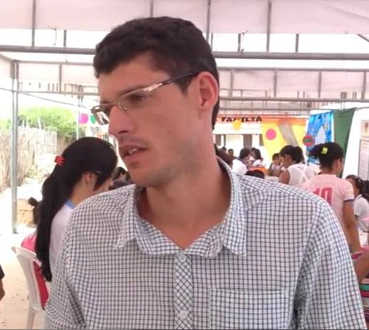 Secretário Municipal de Saúde Leonardo Mascarenhas