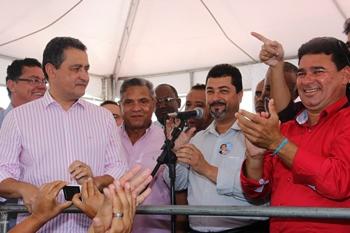 Prefeito Roque apoiou Rui duas vezes para deputado e o ajudou a chegar ao Governo.