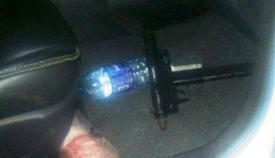 Arma encontrada