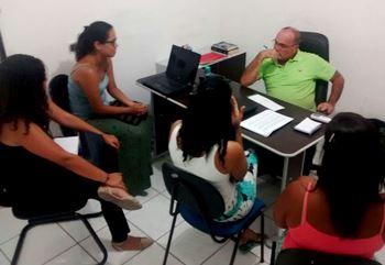 Equipe de trabalho visitou o secretário de Comunicação e Relações Institucionais Valdemí de Assis.