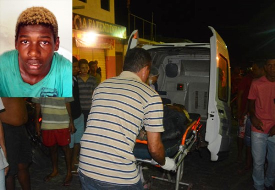 jovem assassinado em santaluz