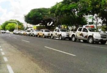 Cidade recebeu pelo menos 150 policiais