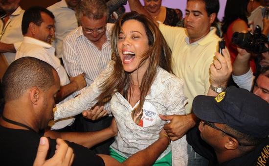 reeleição de Maria Quitéria - 4 - foto- Raimundo Mascarenhas