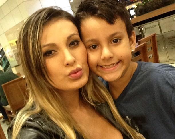 urach com filho 2