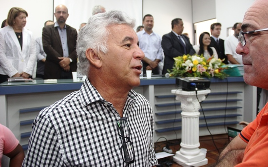 O encontro do prefeito com o CN aconteceu recentemente em um ato sobre a UFNB em Serrinha.