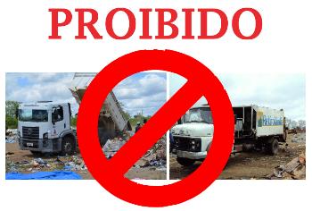 Caminhões de lixo de Valente e Retirolândia lançavam resíduos no aterro de São Domingos.