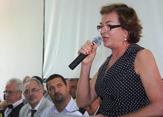 Neusa Cadore prometeu continuar a luta para consolidar o sonho da Universidade na Região Nordeste da Bahia.