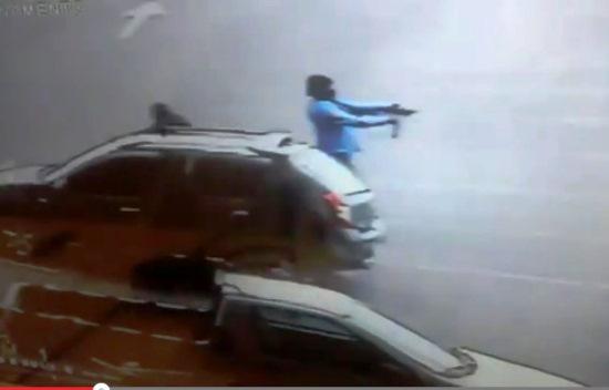bandidos tentativa de assalto a caro forte