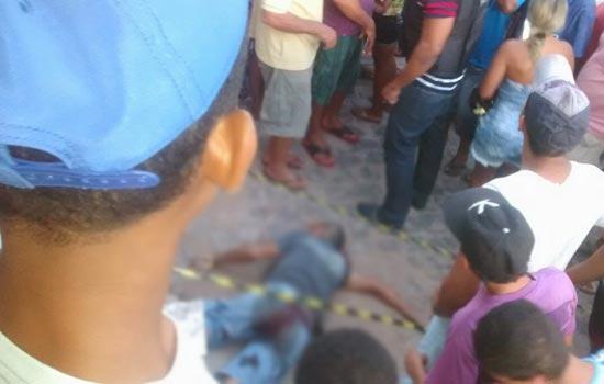Homicídio em Capela do Alto Alegre.