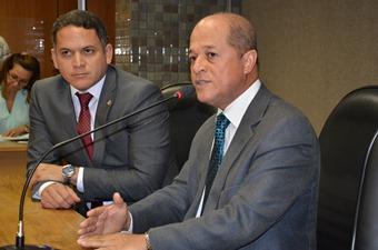 Legenda: Joseildo (Presidente) e Pablo Barrozo (Vice)