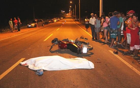 motociclista morre na ba 120