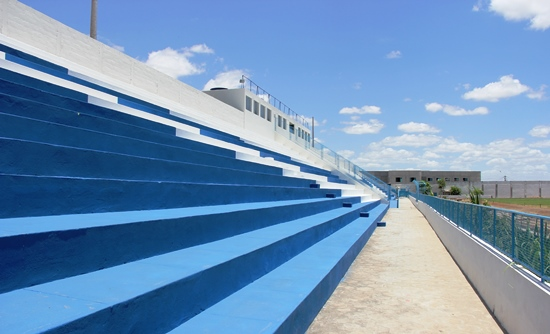 reforma do estádio valffredão - riachão do jacuipe - foto 1 - raimundo mascarenhas