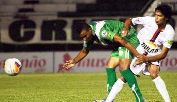 Bahia de Feira esteve na frente do placar por duas vezes.