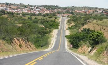 Vista de chegada na cidade de Mairi