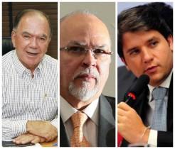 Os três do Partido Progressista, Argolo havia trocado pelo Solidariedade.
