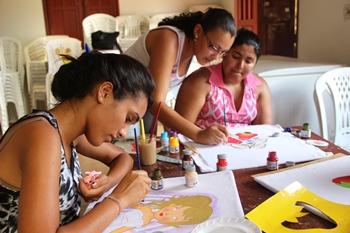 Qualificação em pintura será apresentado aos participantes.