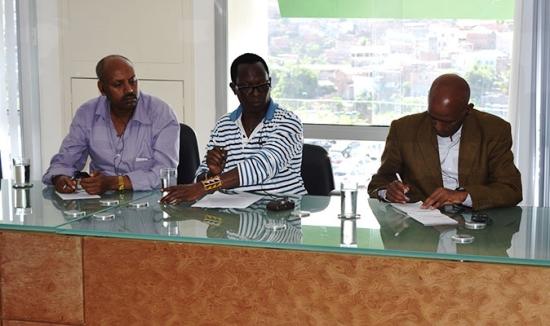 delegação da etiopia - 2
