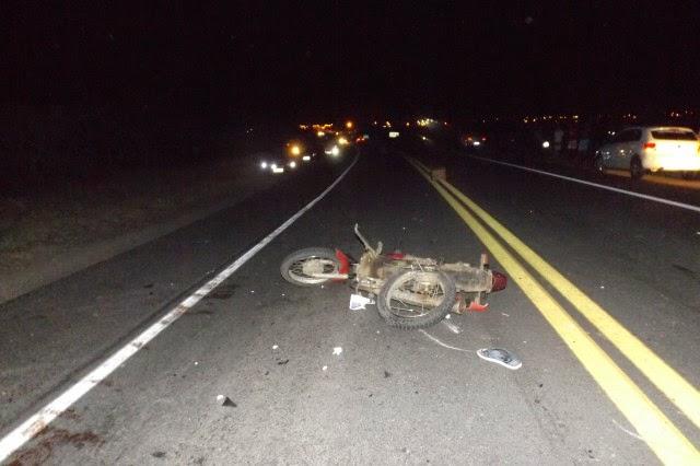 motociclista morto