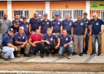A operação conta com policiais da cidade que ganha reforço de cidades vizinhas.