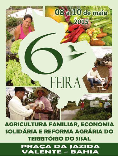 O evento vai reunir agricultores de todo território do sisal.