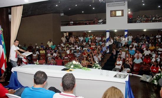 assembleia em prol do PT em Coité - assis - foto- raimundo mascarenhas