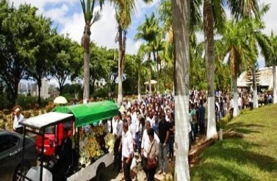campo santo- cremação do corpo de Fernão Samapaio