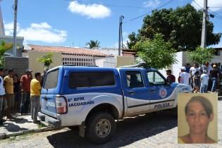 mulher assassinada em jaguarari