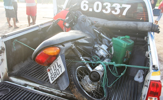Homem morre atropelado por moto próximo as Casas Populares.1