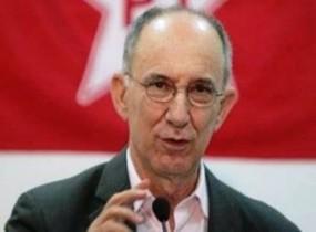Presidente do partido, Rui Falcão.