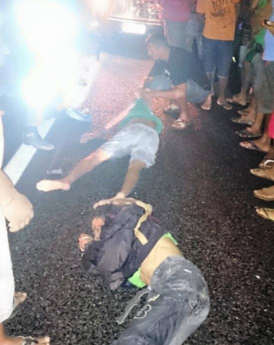 Foi divulgado que uma das vítimas veio a óbito no hospital, mas não foi confirmado pela unidade.