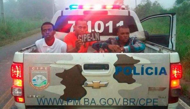 acusados de explodir caixas em irará