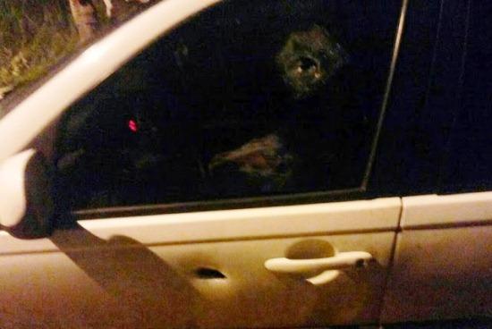 carro da vítima