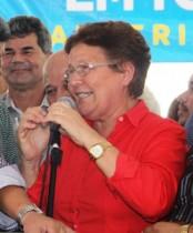 Fátima Nunes disse ter ficado feliz pelos benefícios entregues aos agricultores familiares.